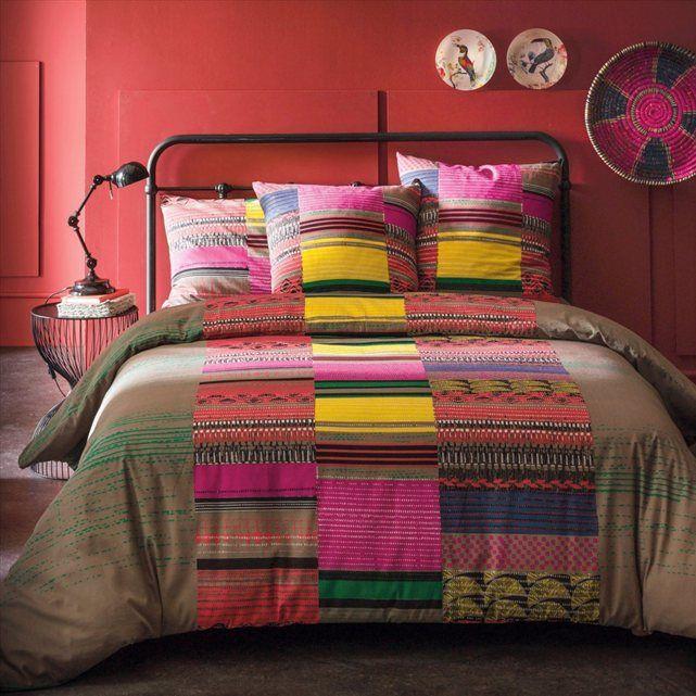 housse de couette imprim e la paz la redoute interieurs prix avis notation livraison. Black Bedroom Furniture Sets. Home Design Ideas