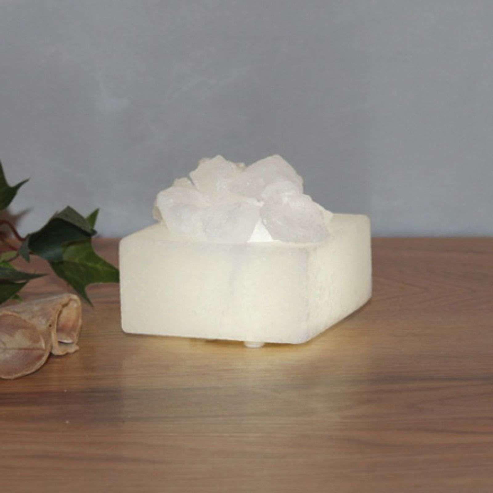 Petite coupe en cristal de sel LED de Wagner Life