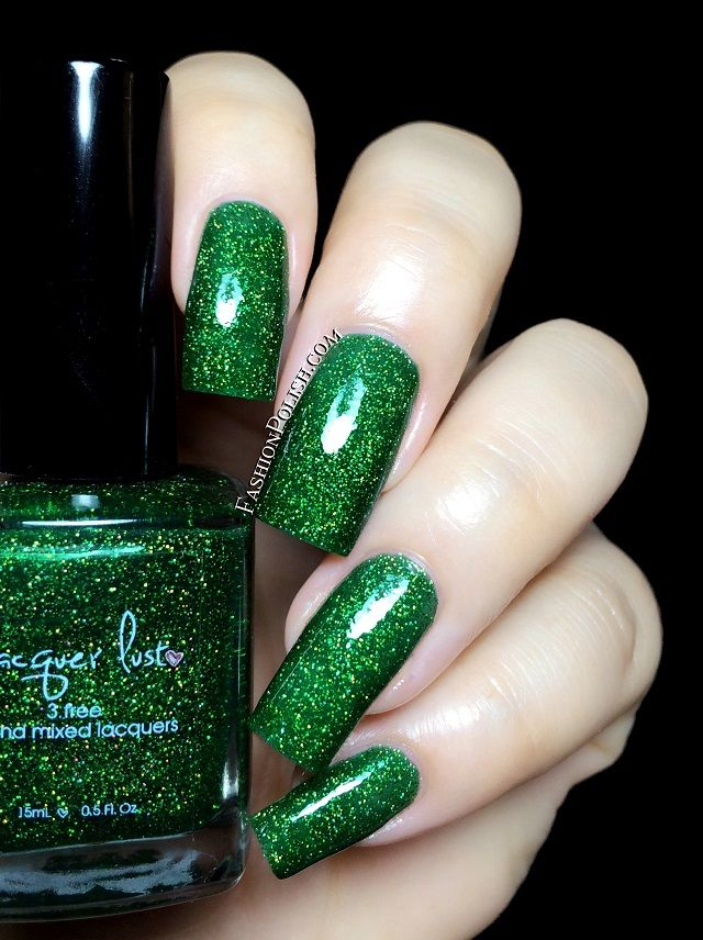 Fashion Polish: NEW from Lacquer Lust : Glitter jellies collection ...
