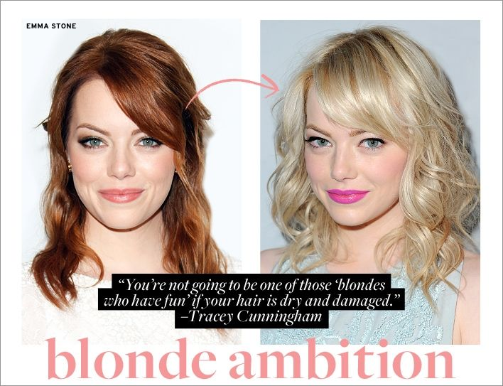 Blonde Ambition: How to Prep Your Hair for A Healthy Change ...