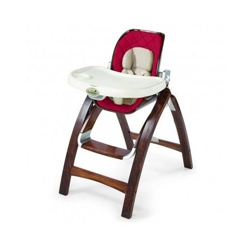 Summer Infant Feeding Chair Wood Baby High Chair Red Infant Seat Feeding Toddler