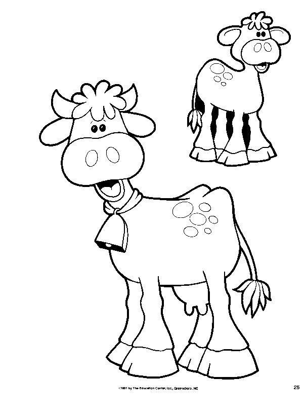 Pin Dibujos Animales Granja Para Colorear Acolorear on Pinterest ...