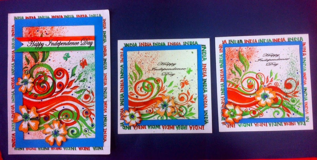 Card Making Ideas Independence Day Part - 19: Art ,Craft Ideas And Bulletin Boards For Elementary Schools: Independence  Day Invitation Card And