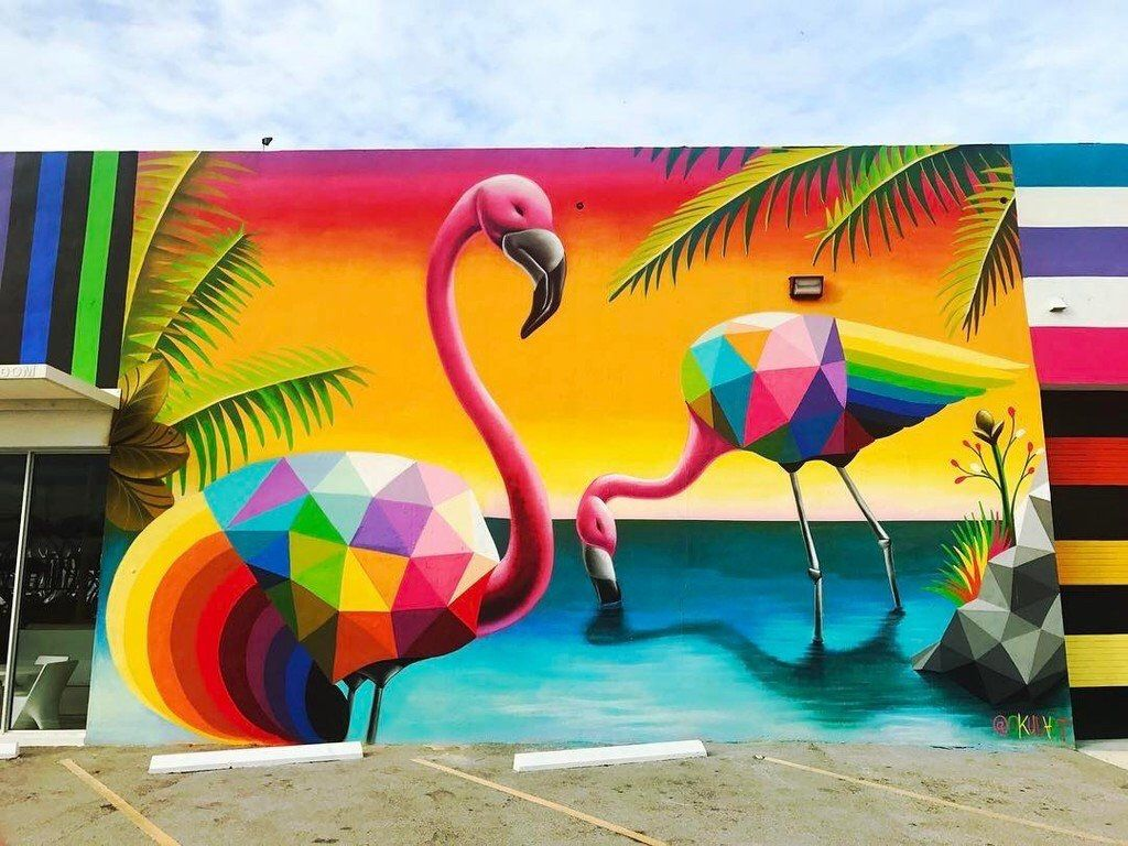 Wynwood art by Kara Franker | Colors | Pinterest | Kara, Miami and ...