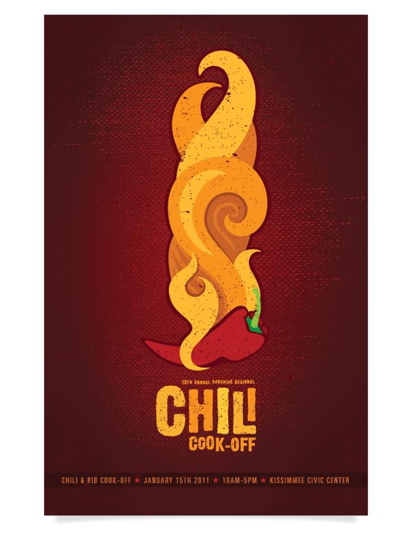 Chili cook off door prizes logo