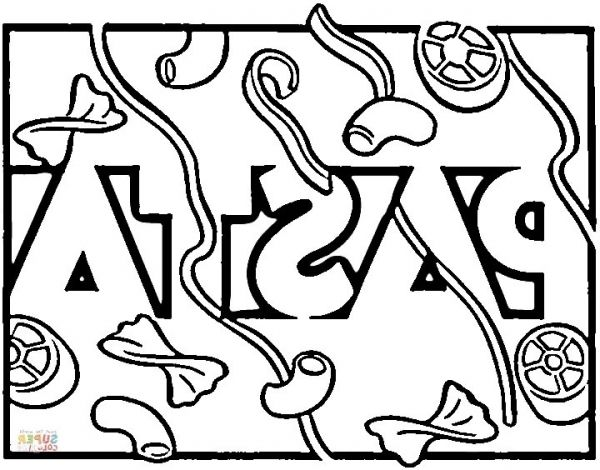 The Best pasta coloring pages - http://coloring.alifiah.biz/the-best ...