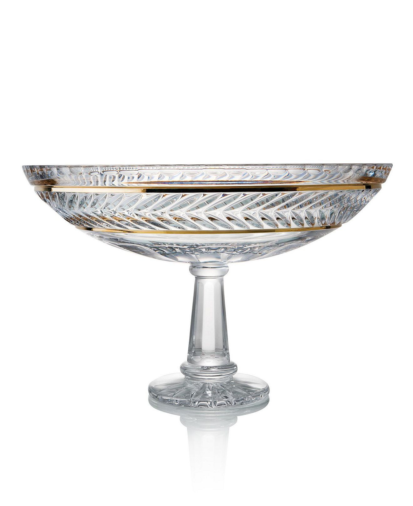 Trump Home Crystal Bowl Mar A Lago Footed Centerpiece