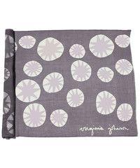 Virginia Johnson — lightweight merino wool shawl stars grey