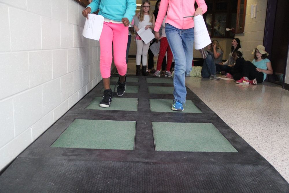 High School Becomes First Public Place With Energy Generating Flooring High School School Kinetic Energy