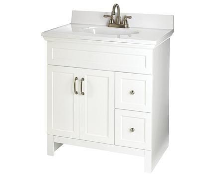 For Living Beacon Hill White Vanity Canadian Tire - Meuble lavabo salle de bain canadian tire