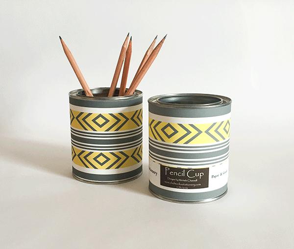 Shelworks Stationery Makeup brush organization, Pencil