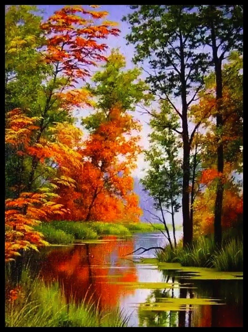 Sign In Beautiful Paintings Of Nature Autumn Painting Scenery Paintings