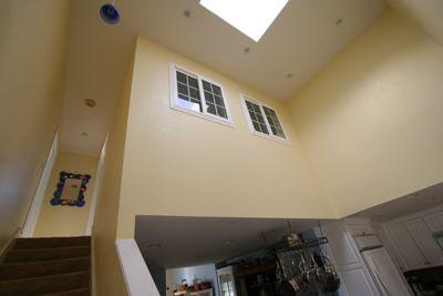 Handy Home Improvement Loft Wall Upstairs Loft Interior Windows
