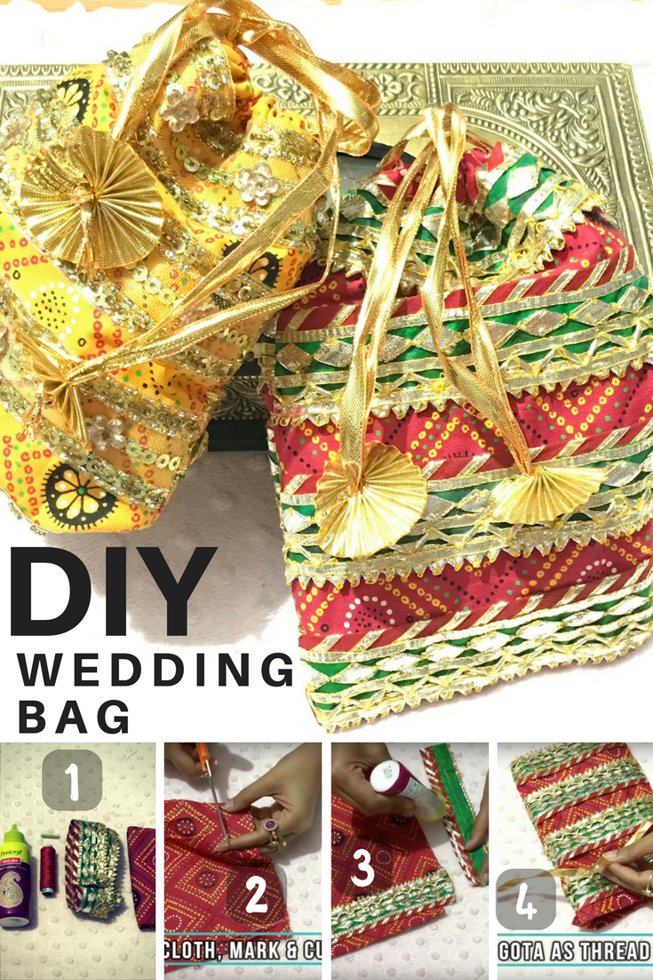 How To Make A Wedding Gift Bag Diy Jewellery Pouches Diy