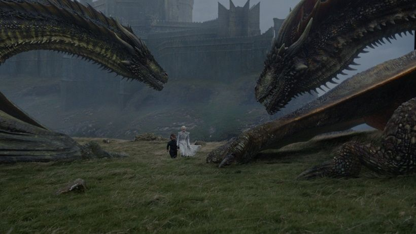 Game Of Thrones Season 7 Episode 6 Dragon Wallpaper Game