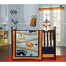 Zutano Construction 4 Piece Crib Bedding Set