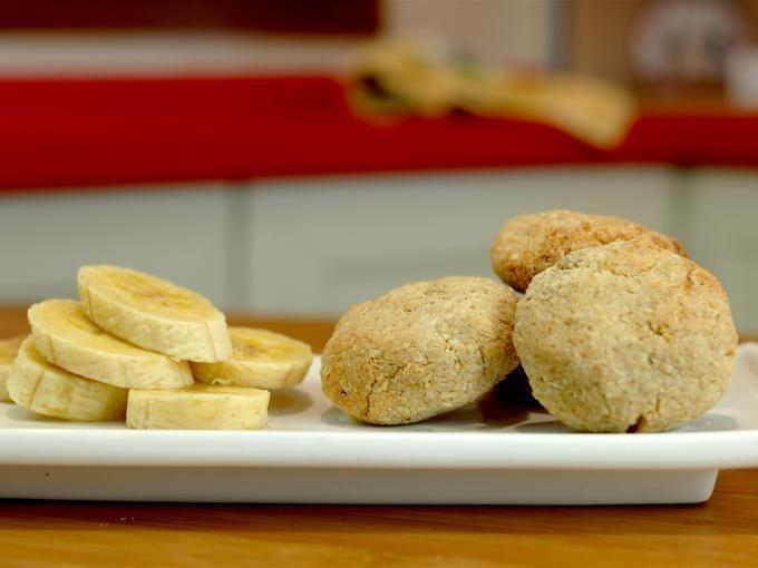 Receta Postre : Pastelitos de plátano, coco por FitKen