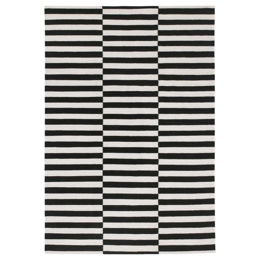 Stockholm Rug Flatwoven Handmade Striped Black Off White 170x240 Cm Ikea Alfombras Ikea Alfombras Para Dormitorios Alfombras