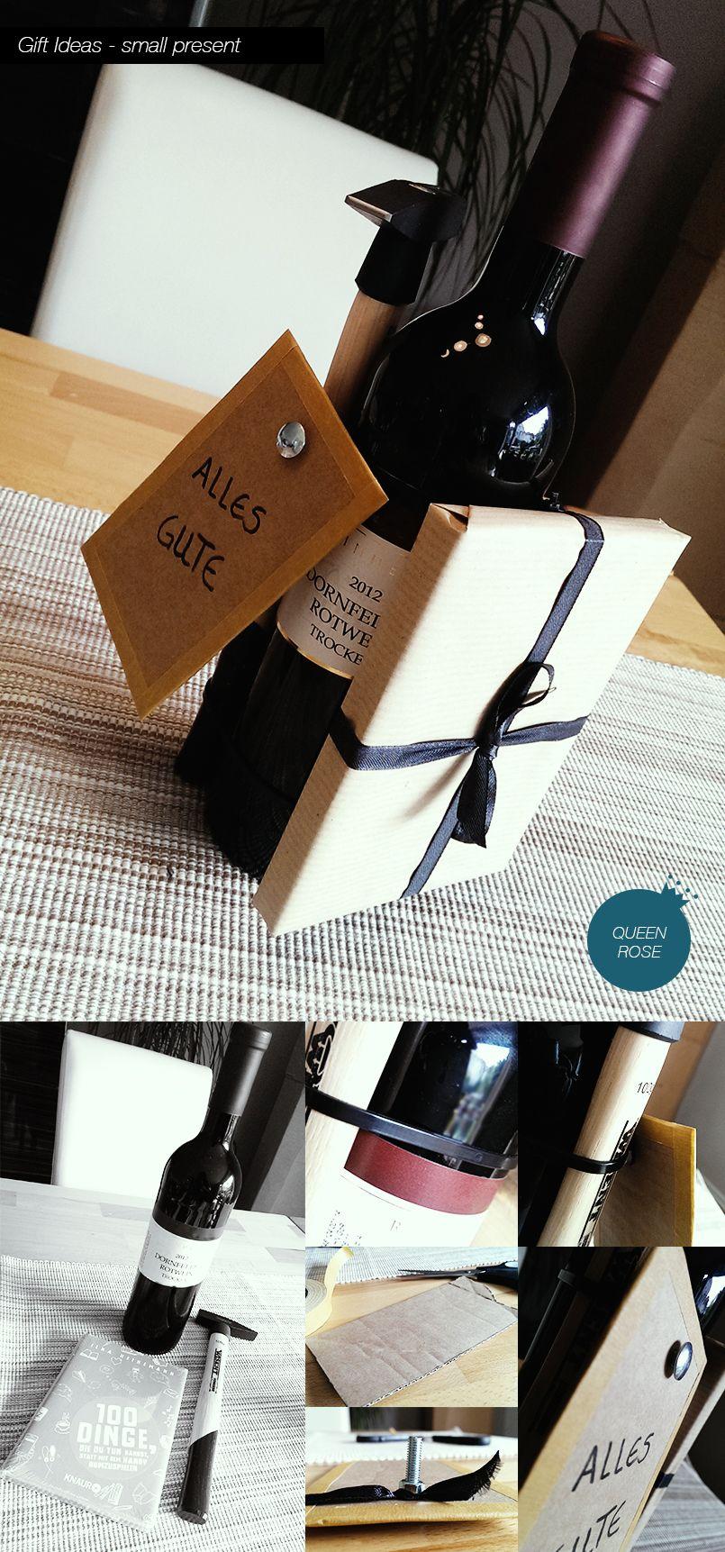 #Gift #Idea - small present - Süße Idee für ein kleines Mitbringsel #housewarming