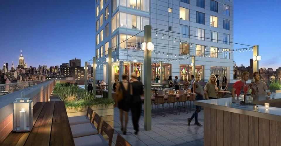 Mr Purple New York Rooftop Bar With Pool In 2019