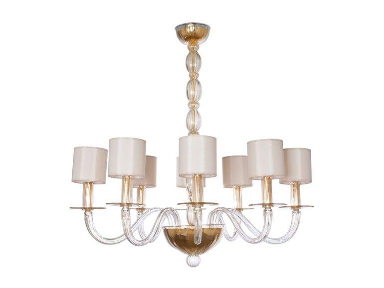 Lampade In Vetro Di Murano : Lampada a sospensione fatta a mano in vetro di murano olympia by