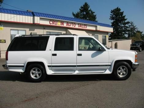 Cheap Chevrolet Suburban 1500 Lt 95 For Sale In Washington 4995
