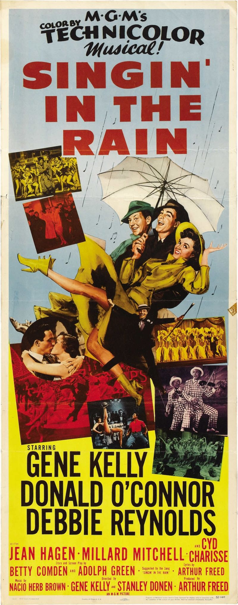 SINGIN' IN THE RAIN (1952) | about the start of the 'talkies' period. One of my favourite movies! 1920's and tap dancing, can't go wrong there :)