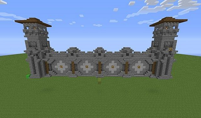 Wall Designs Pt 2 Minecraft Project
