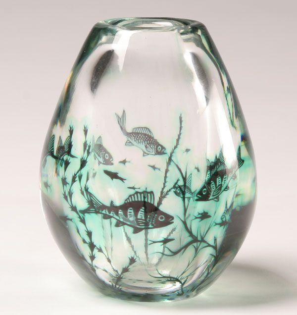 Antique Orrefors Vases Vintage Orrefors Vase Art Pinterest