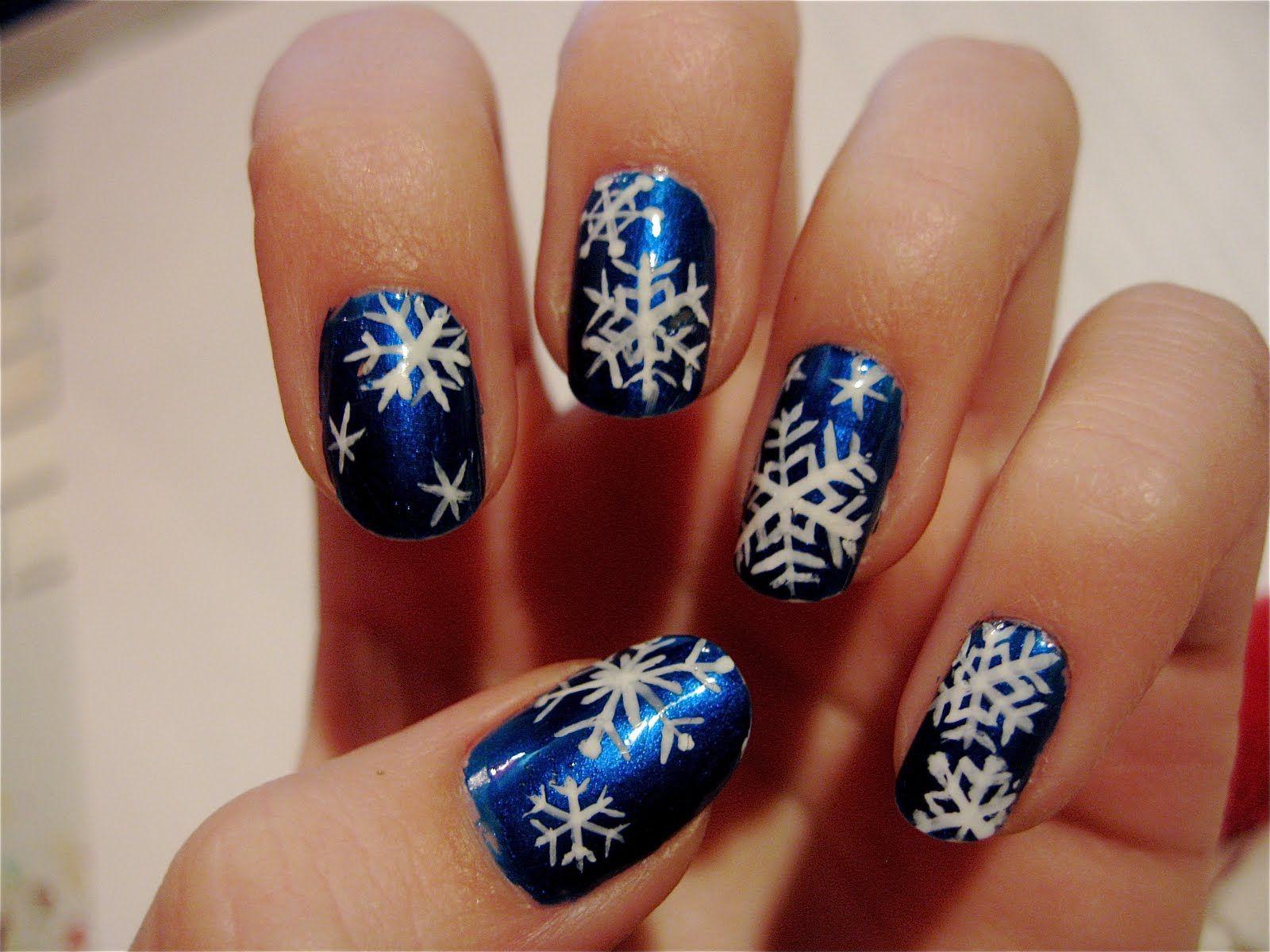 Christmas Nails The Nailtress Christmas Nail Art D