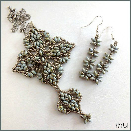 "This beauty is made up of several ""wave"" motifs - and the pattern is available on this lovely blog!"