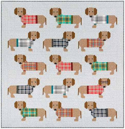 Dogs In Sweaters Designed By Elizabeth Hartman Features