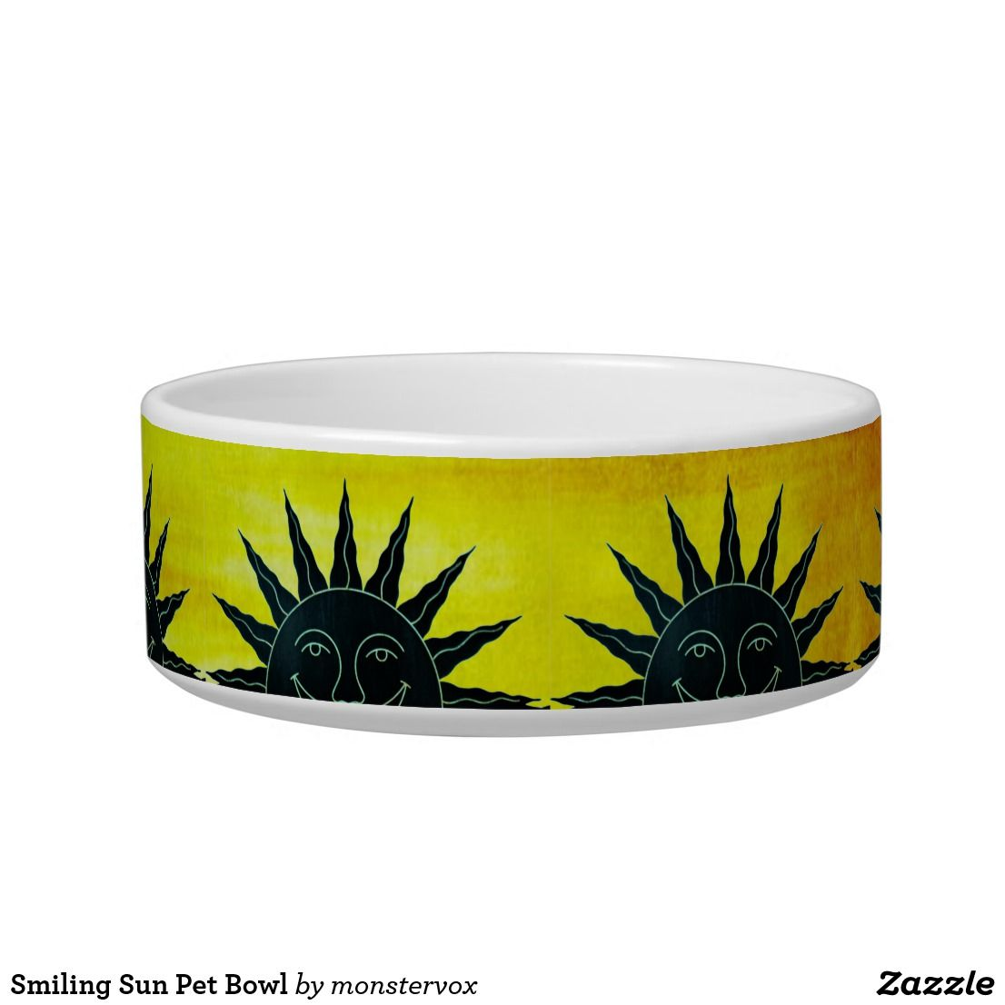 Smiling Sun Pet Bowl
