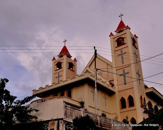 Katedral jayapura church gereja pinterest churches katedral jayapura junglespirit Images