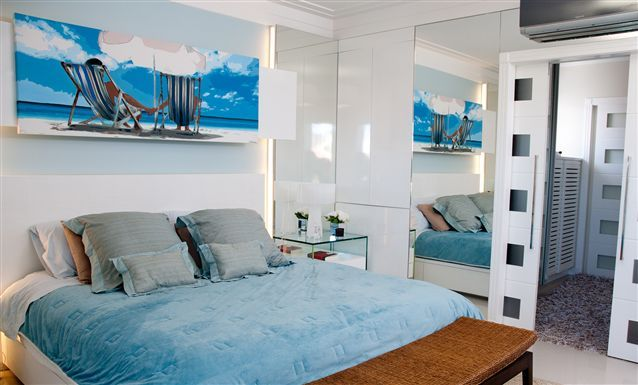 Tecto - Portfólio - Juliana Pippi - Residencial : Casa Jurerê Internacional - Quarto de Casal
