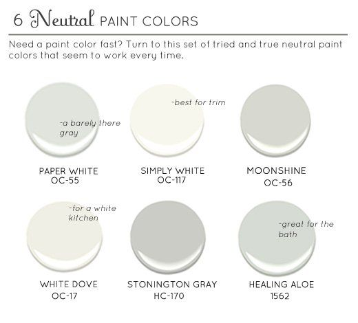 Best neutral paint colors neutral paint and neutral for Best neutral gray paint