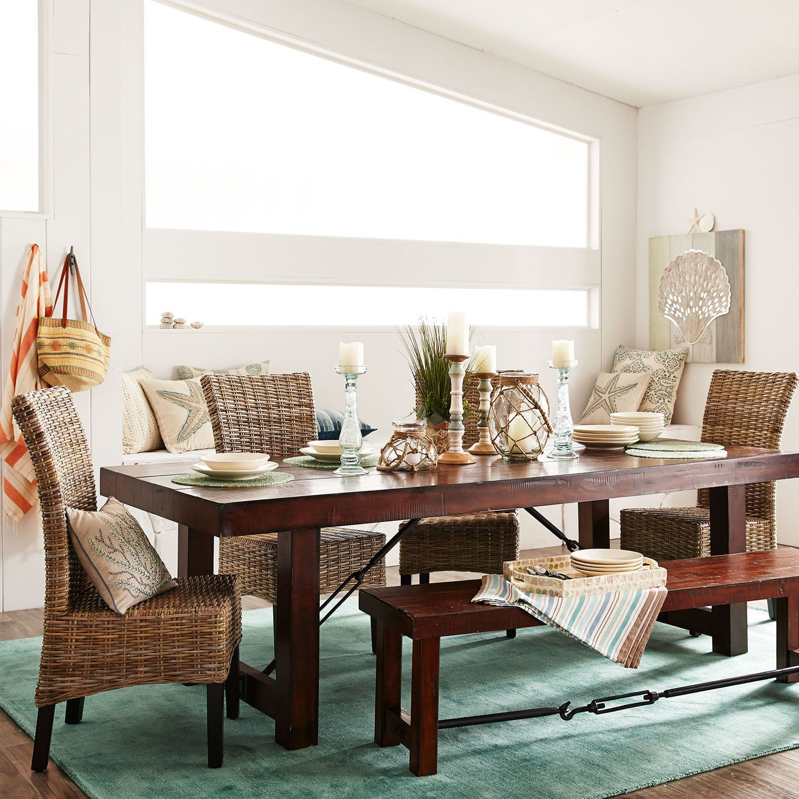 """Eastwood Tobacco Brown 9425"""" Dining Table  Table Seating Prepossessing Pier One Dining Room Furniture Inspiration"""