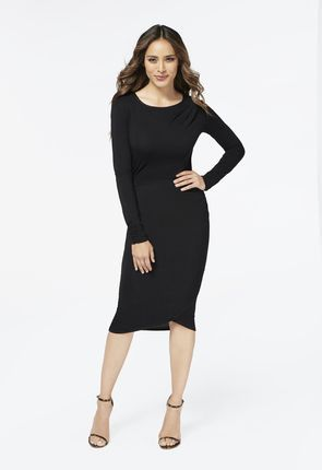 d6145aba1c6 Just purchased the Crossover Drape Front Dress from JustFab.com  ambsdr   JustFab