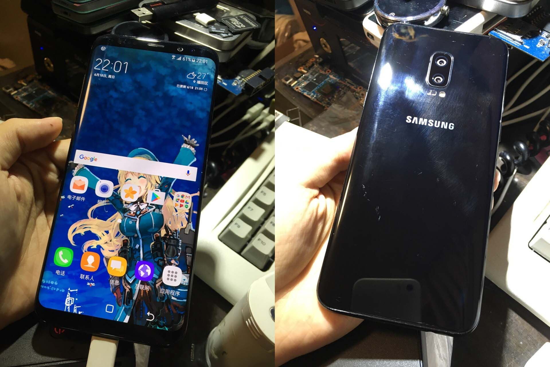 New Samsung Galaxy S8 Prototype With Dual Camera Setup Leaks
