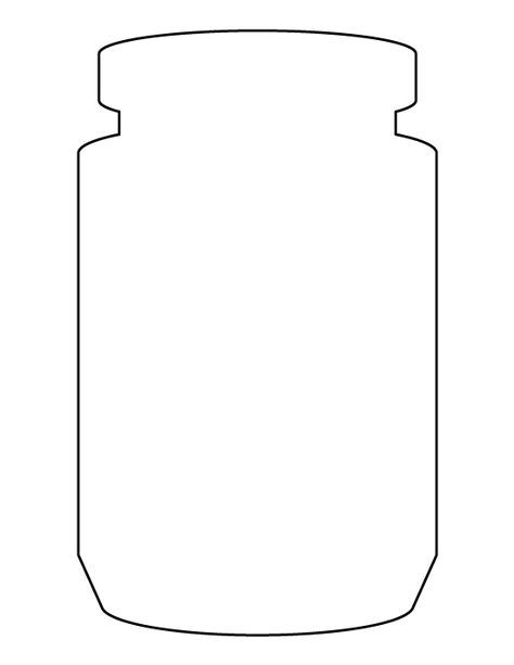 Canny image regarding free printable mason jar template