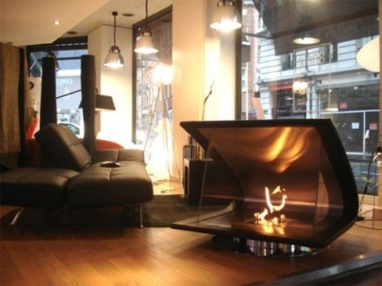 Furniture:Fancy Decoration Room With Nice Sofa Bed And Modern Luxury Fireplace With Unique And Awesome Design Inspirational Designs of Moder...