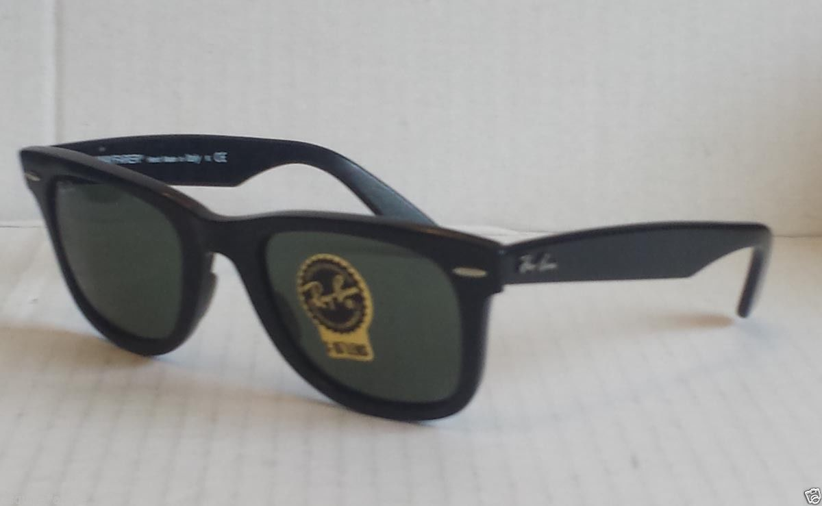 ebay Ray-Ban wayfarer black sunglasses model RB2140 made in Italy withing  our EBAY 86b4389e75
