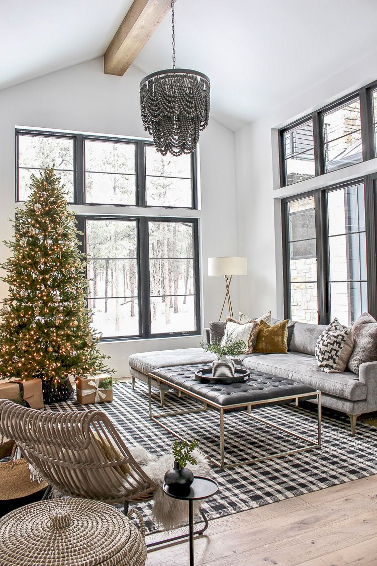 The Forest Modern Grand Finale Christmas Home Tour 2018 Home