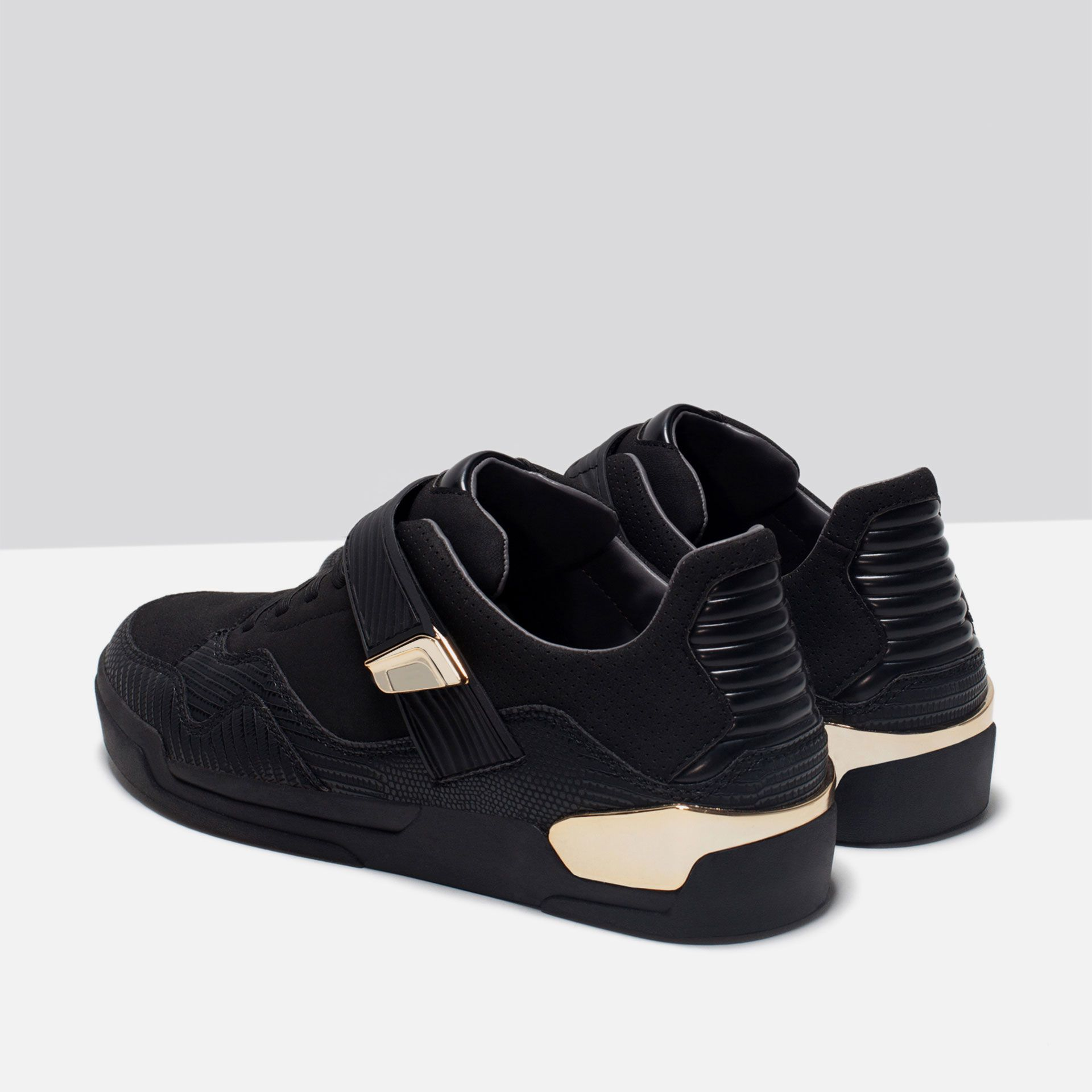 METALLIC DETAIL SNEAKERS - Sneakers - Shoes - MAN | ZARA Philippines