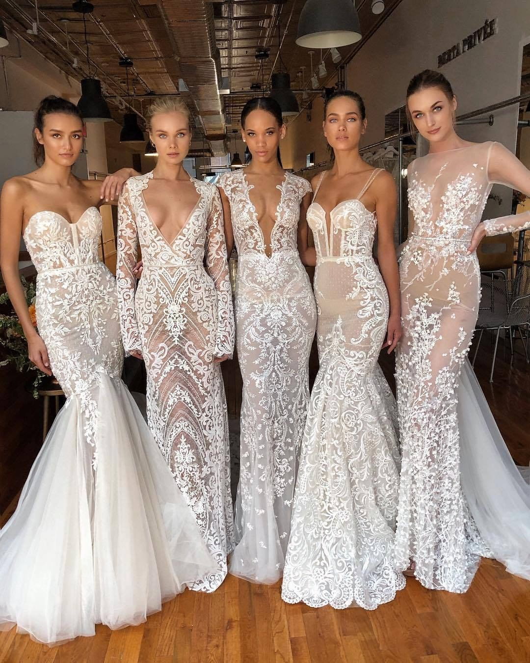 "Wedding Dresses Gallery on Instagram: ""Gorgeous dresses ⁠✨ Which one would you wear?⁠ ⁠ ⁠ Dresses by @berta ⁠ ⁠ #dress #weddingdress #bride #weddingparty #wedding #weddingdresses…"" #bertaweddingdress"