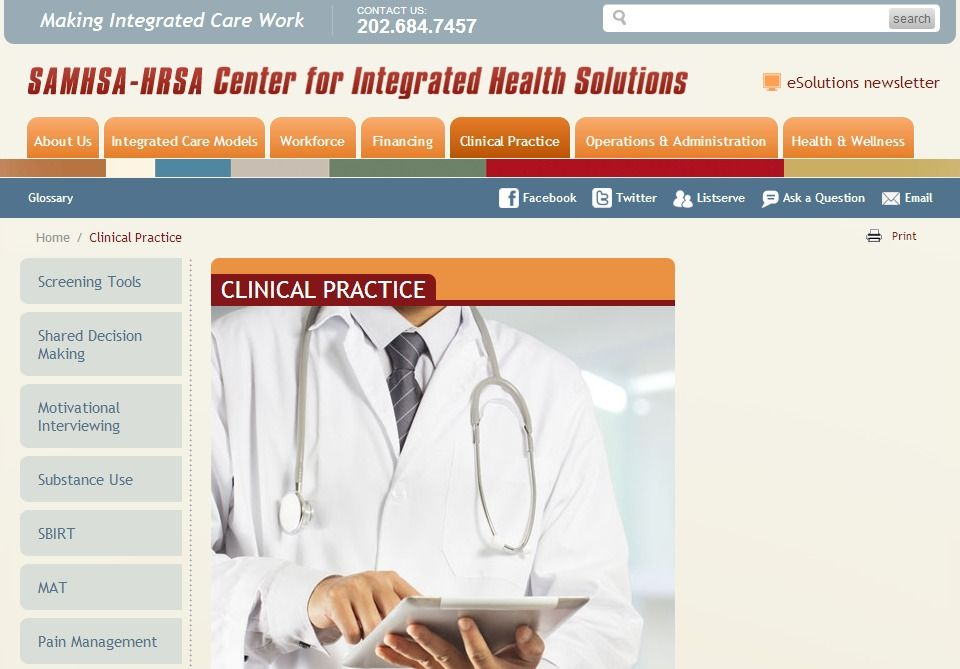 SAMHSAHRSA Center for Integrated Health Solutions (CIHS