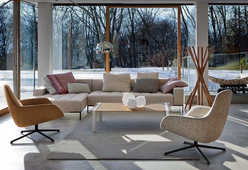 Zanotta Mobili ~ Arom armchairs by noé duchaufour lawrance and alfa sofa by emaf