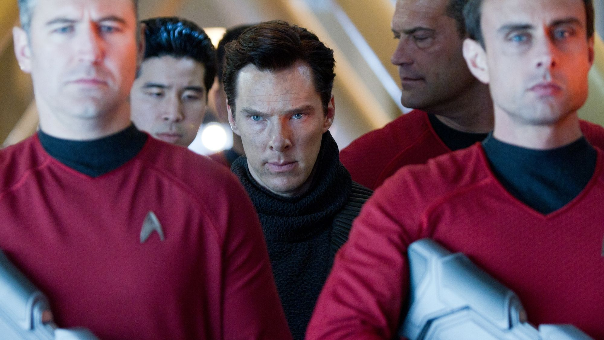 Benedict Cumberbatch is John Harrison in #StarTrek #IntoDarkness. Book released 5/21, Movie released 5/17