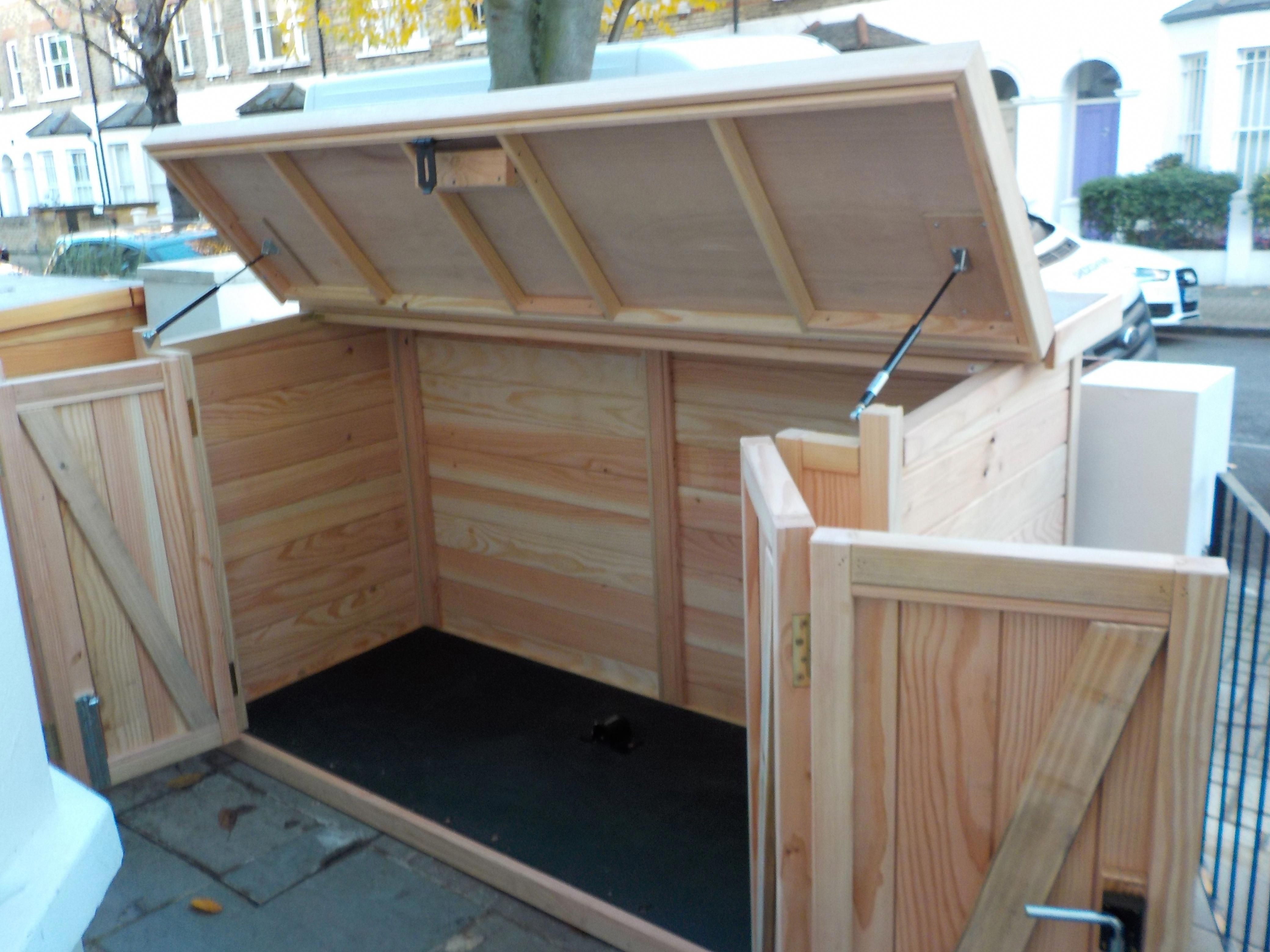 Finewoodworkingdesign In 2020 Motorcycle Storage Shed Bike Shed Outdoor Bicycle Storage