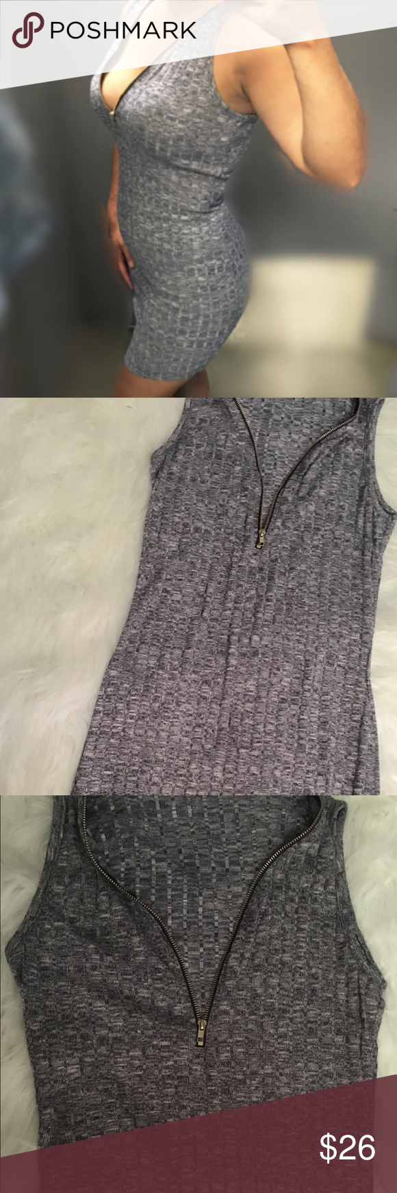 New Sexy Half Zip Bodycon Summer Dress New Light Gray Blue BodyCon Dress  Small and Medium Available  Grayish/Bluish Color  Rayon/Polyester/Spandex  Half Zip in the front  Unbranded   ✔️Firm Price  ✔️Ships day after (no shipping on weekends) :) ✖️No Trades Dresses Mini